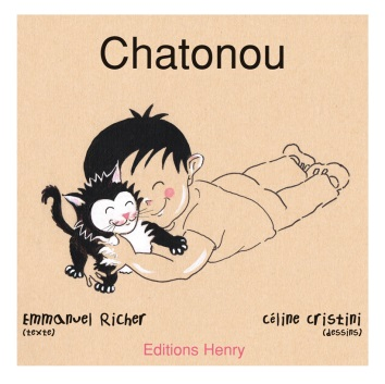 article image Richer Emmanuel (texte) Cristini Céline (Illustrations) : Chatonou